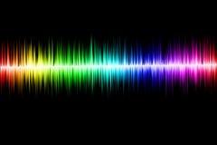 Абстрактная звуковая война Стоковое Изображение RF