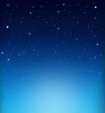 Абстрактная звёздная голубая предпосылка Стоковое Изображение