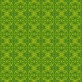 Абстрактная зеленая безшовная картина предпосылки 3d представляют illustrati бесплатная иллюстрация