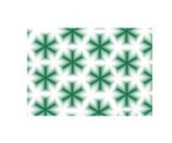 Абстрактная зеленая картина звезд Стоковая Фотография