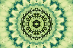 абстрактная зеленая картина Стоковая Фотография RF