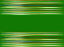 Абстрактная зеленая предпосылка в горизонтальных нашивках Стоковое Изображение RF