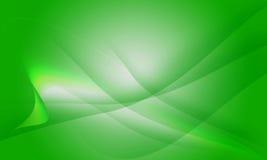 Абстрактная зеленая предпосылка Стоковая Фотография