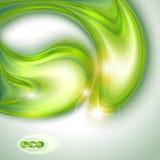 Абстрактная зеленая предпосылка Стоковые Фотографии RF
