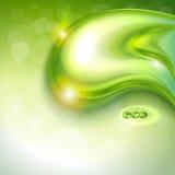 Абстрактная зеленая предпосылка Стоковое Изображение RF