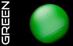 Абстрактная зеленая сфера на черноте смогите конструктор каждый вектор оригиналов предмета evgeniy графиков независимый kotelevsk иллюстрация штока
