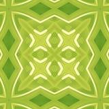 абстрактная зеленая текстура Иллюстрация предпосылки с сильными линиями Милая безшовная плитка Картина печати ткани Домашняя ткан Стоковое Фото