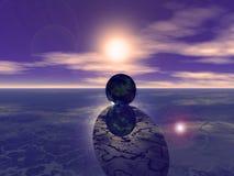 абстрактная земля Стоковое Изображение RF