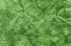 Абстрактная зеленая кожаная текстура Стоковая Фотография