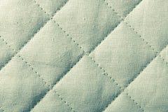 Абстрактная зеленая мягкая текстурированная предпосылка с квадратами Стоковые Фото
