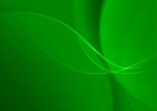 Абстрактная зеленая предпосылка для дизайна Стоковые Изображения RF