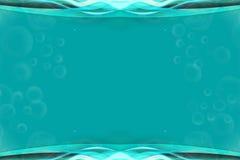 Абстрактная зеленая рамка Стоковое Изображение RF