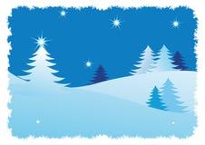 абстрактная зима валов backgrou Стоковые Фотографии RF