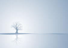 абстрактная зима вектора вала Стоковая Фотография RF