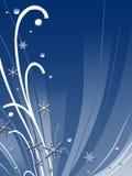 абстрактная зима конструкции Стоковые Изображения