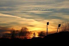 абстрактная зима неба изображения фрактали Стоковое Фото
