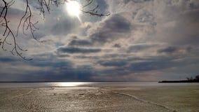 абстрактная зима неба изображения фрактали Стоковые Фото