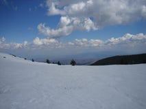 абстрактная зима неба изображения фрактали Стоковое Изображение