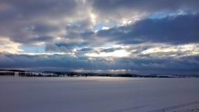 абстрактная зима неба изображения фрактали Стоковая Фотография