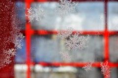 абстрактная зима предпосылки Стоковая Фотография