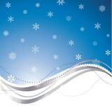 абстрактная зима предпосылки иллюстрация штока