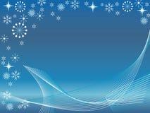 абстрактная зима предпосылки Стоковые Фотографии RF
