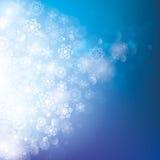 абстрактная зима предпосылки иллюстрация вектора