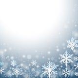 абстрактная зима предпосылки Стоковые Фото