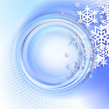 абстрактная зима сини предпосылки Стоковое фото RF