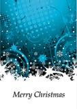 абстрактная зима grunge предпосылки Стоковая Фотография RF