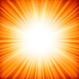 Абстрактная излучающая звезда. Стоковое Фото