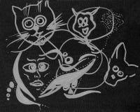 Абстрактная иллюстрация животных бесплатная иллюстрация