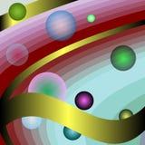 абстрактная иллюстрация предпосылки Стоковая Фотография RF