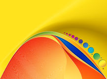 абстрактная иллюстрация цвета предпосылки Стоковые Фото