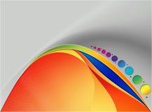 абстрактная иллюстрация цвета предпосылки иллюстрация штока