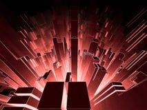 абстрактная иллюстрация 3d Стоковая Фотография RF