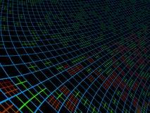 Абстрактная динамическая конструкция Стоковые Изображения