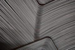 Абстрактная линия металла стоковое фото