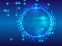Абстрактная линия предпосылка с backgr вектора концепции технологии Стоковое фото RF