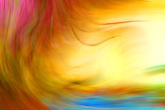 Абстрактная и красочная предпосылка текстуры нерезкости Стоковая Фотография