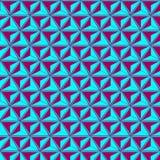 Абстрактная иллюзия, геометрическая предпосылка Стоковое Изображение RF