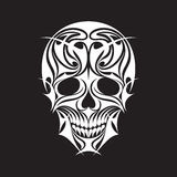 Абстрактная иллюстрация вектора черепа Стоковая Фотография RF