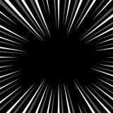 Абстрактная иллюстрация круговой картины с radial, radiati Стоковое Изображение