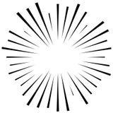 Абстрактная иллюстрация круговой картины с radial, radiati Стоковая Фотография