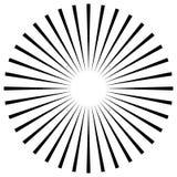 Абстрактная иллюстрация круговой картины с radial, radiati Стоковая Фотография RF