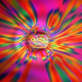 Абстрактная иллюстрация тоннеля Стоковая Фотография
