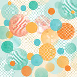 Абстрактная иллюстрация точки Стоковая Фотография RF