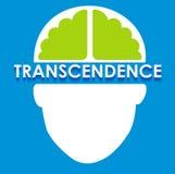 Абстрактная иллюстрация трансцендентальности Стоковые Изображения