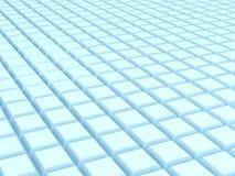 Абстрактная иллюстрация 3d над белизной Стоковые Изображения RF