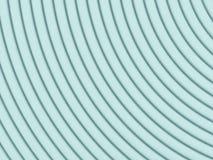 Абстрактная иллюстрация 3d над белизной Стоковая Фотография